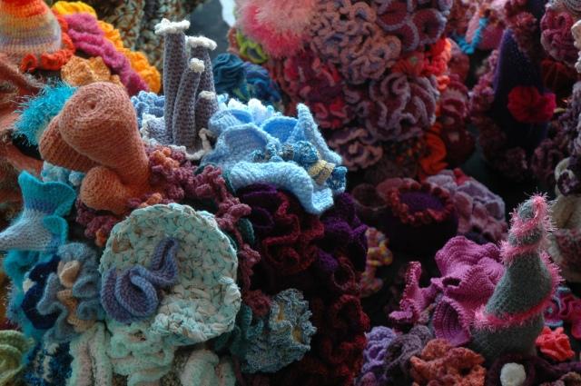 Hyperbolic Crochet Coral Reef VA 7