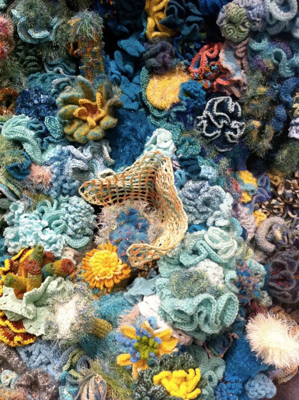 Hyperbolic Crochet Coral Reef VA 8