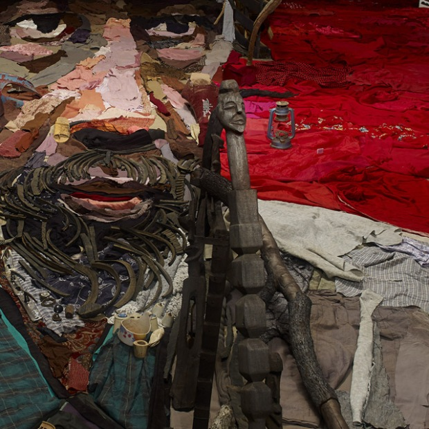 massive anamorphic portrait Bernard Pras 2
