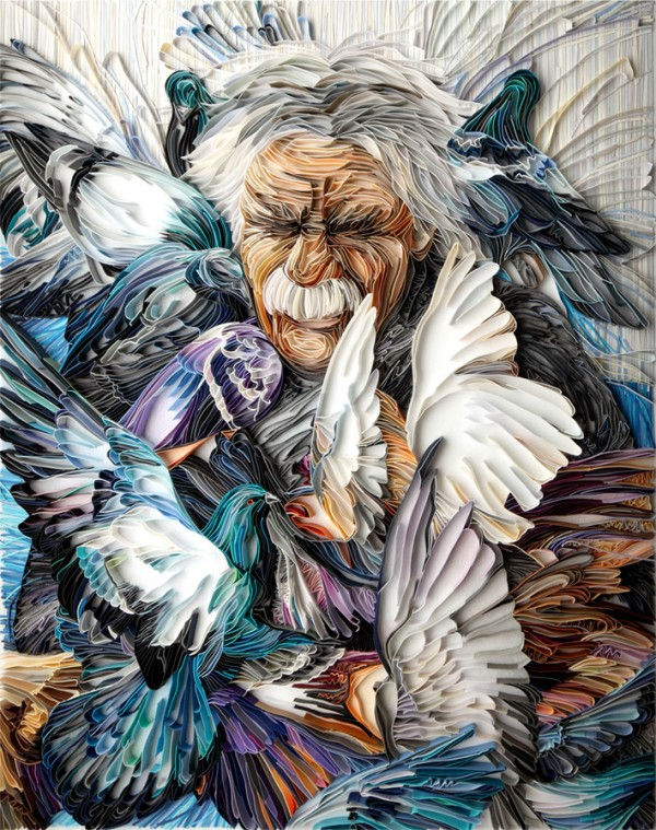 quilled paper portraits yulia brodskaya 2