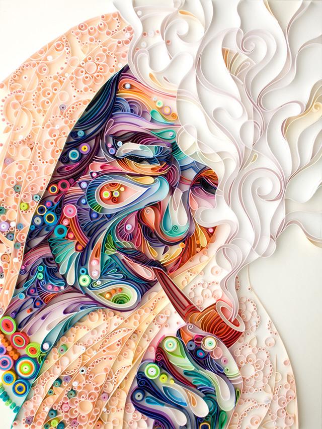 quilled paper portraits yulia brodskaya 4