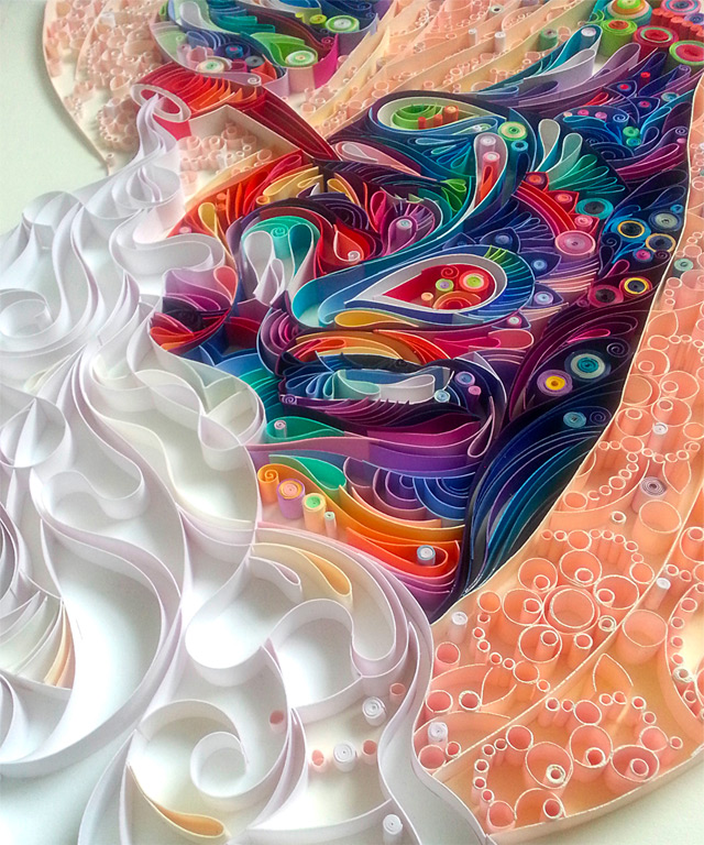 quilled paper portraits yulia brodskaya 6