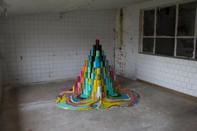 Spontaneous Sculptures Brad Downey 4