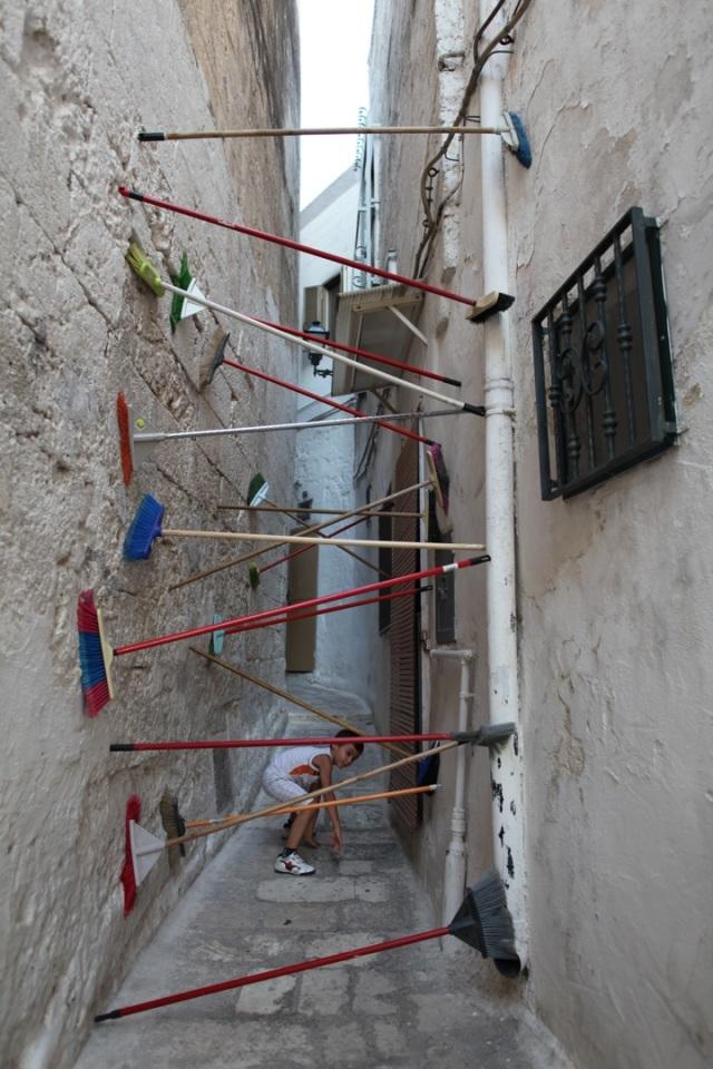 Spontaneous Sculptures Brad Downey