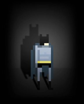 8 bit superheroes Ercan Akkaya 2