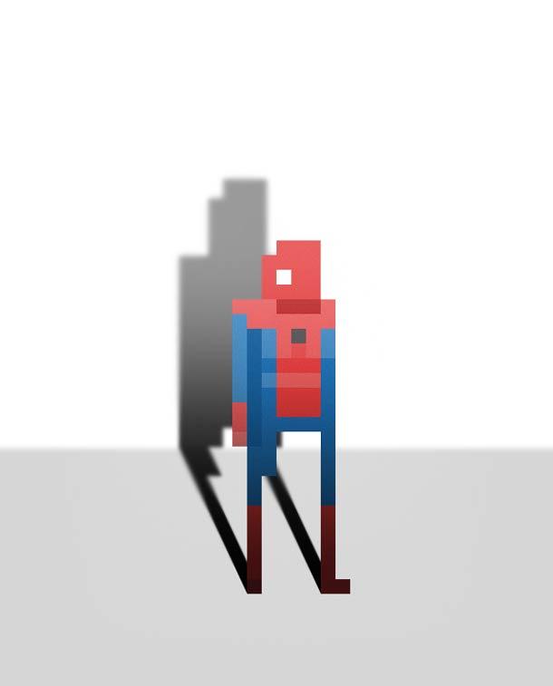 8 bit superheroes Ercan Akkaya 3