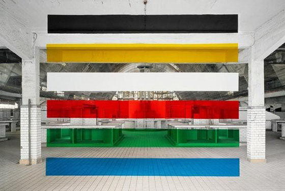 Architectural Anamorphic Illusions Georges Rousse 10