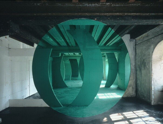 Architectural Anamorphic Illusions Georges Rousse 12