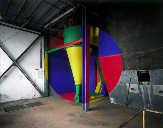 Architectural Anamorphic Illusions Georges Rousse 14