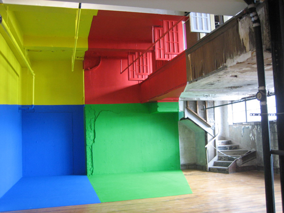 Architectural Anamorphic Illusions Georges Rousse 17