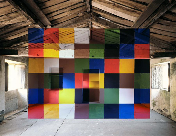 Architectural Anamorphic Illusions Georges Rousse 19