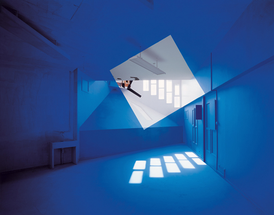 Architectural Anamorphic Illusions Georges Rousse 5
