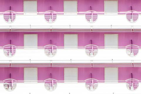 Geometry and Repetition, Color and B&W  Luigi Bonaventura and Dr. Akira Takaue 3