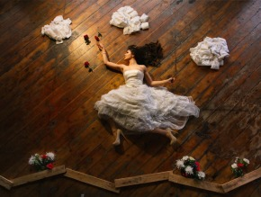 the flying bride illusion Ryan Brenizer 2