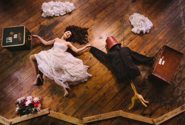 the flying bride illusion Ryan Brenizer 3