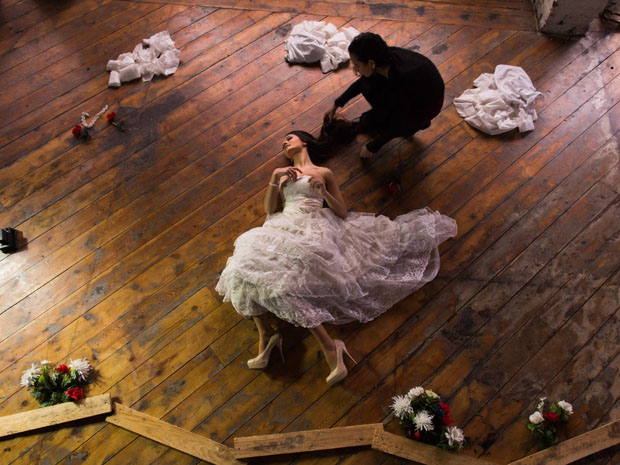 the flying bride illusion Ryan Brenizer 8
