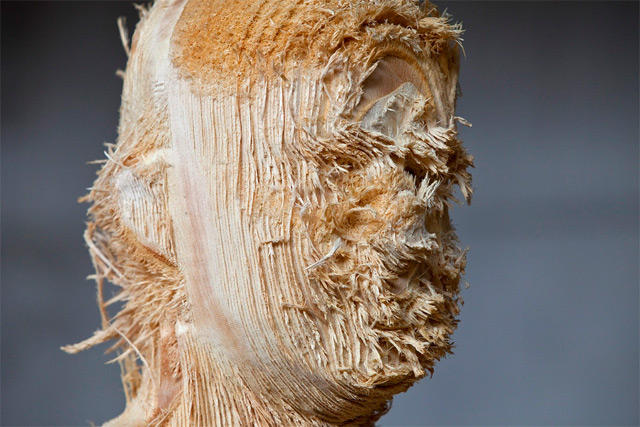 the tainted sculptures Aron  Demetz 15