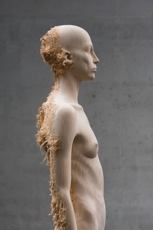 the tainted sculptures Aron Demetz 5