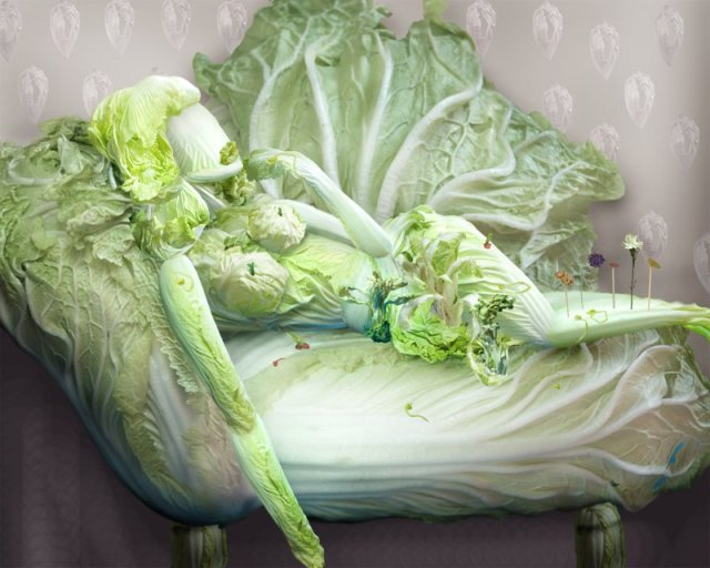 Cabbage Sculptures Ju Duoqi 10