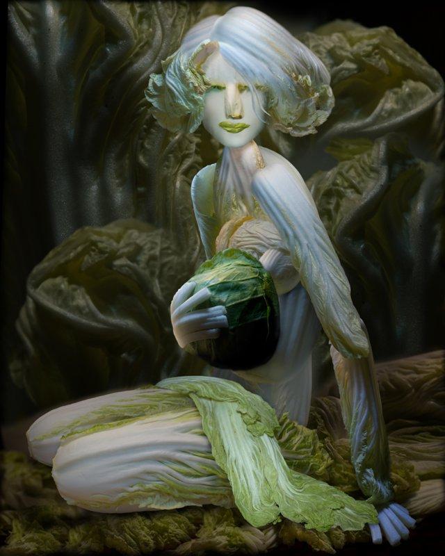 Cabbage Sculptures Ju Duoqi 2