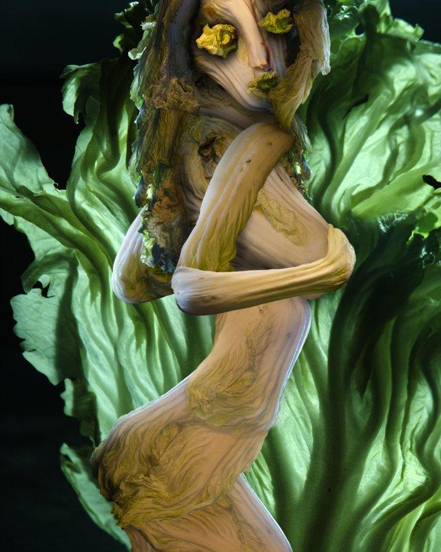 Cabbage Sculptures Ju Duoqi 5