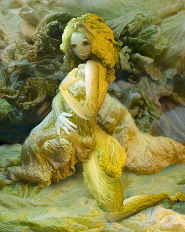 Cabbage Sculptures Ju Duoqi