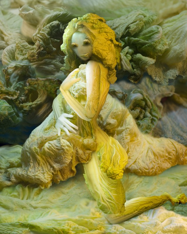 Cabbage Sculptures Ju Duoqi