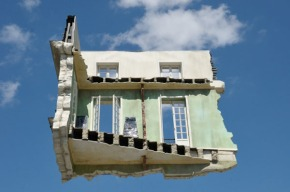 floating room Leandro Erlich 2