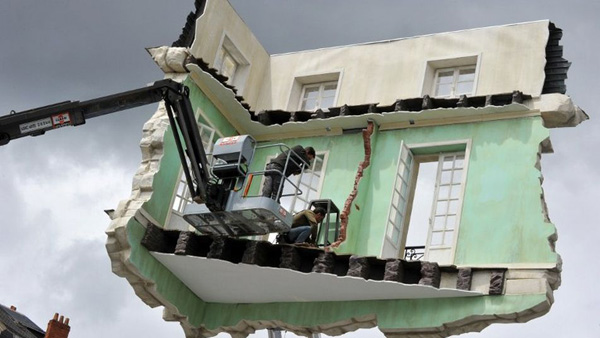 floating room Leandro Erlich 7
