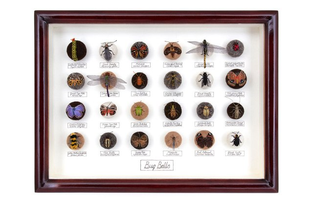 hand-embroiders insects Claire Moynihan 9