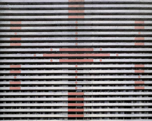Hong Kong Architecture Michael Wolf 3