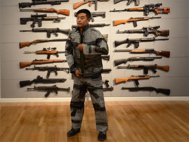 invisible man Liu Bolin 5