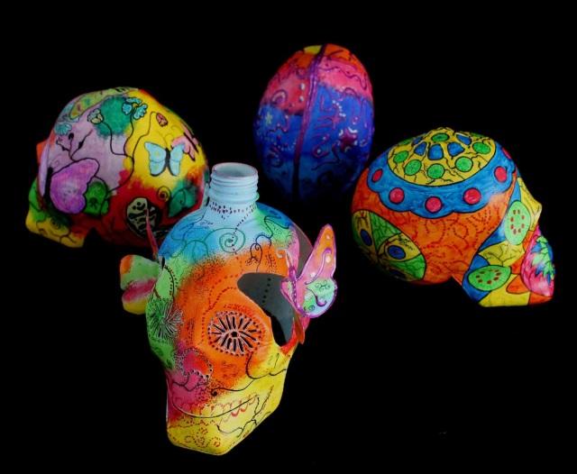 Plastic skulls franco reyes 16