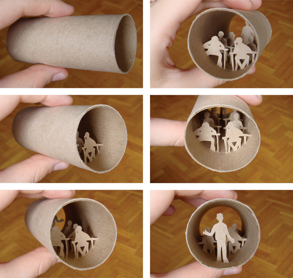 toilet paper roll art Anatassia Elias 11