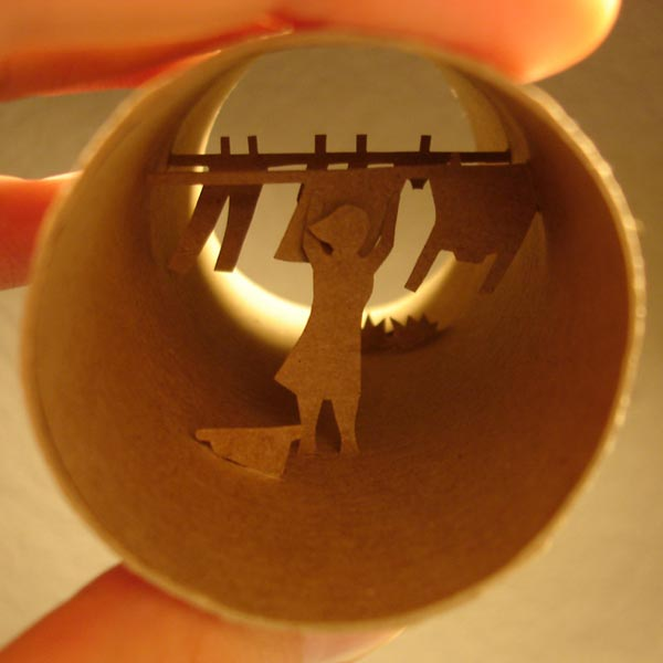 toilet paper roll art Anatassia Elias 12