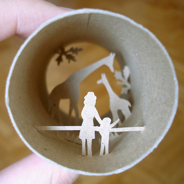 toilet paper roll art Anatassia Elias 19