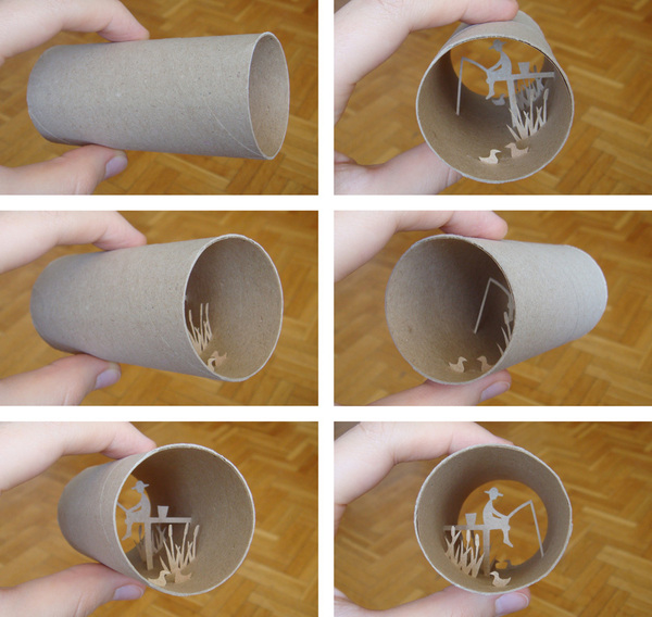 toilet paper roll art Anatassia Elias 2