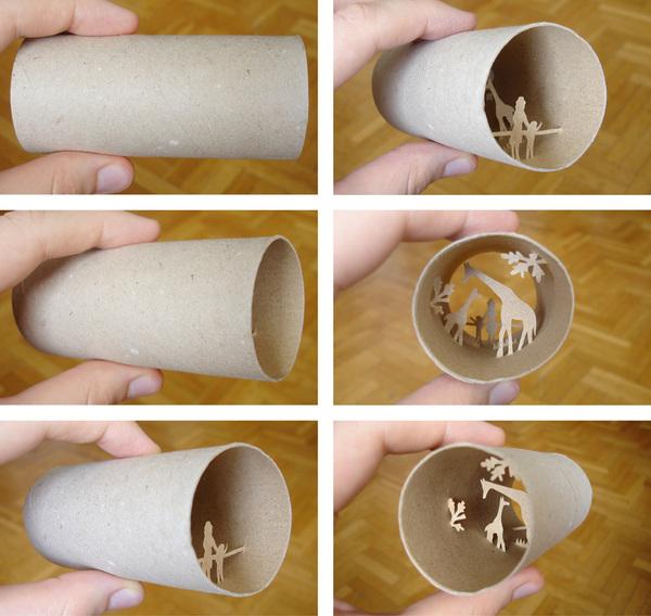 toilet paper roll art Anatassia Elias 20