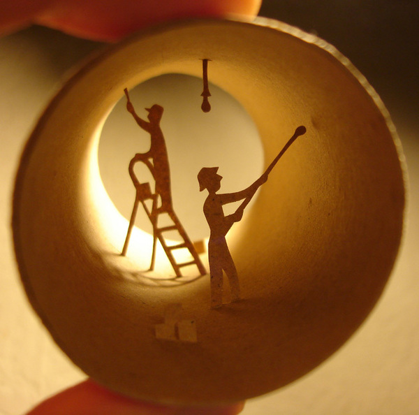 toilet paper roll art Anatassia Elias 23