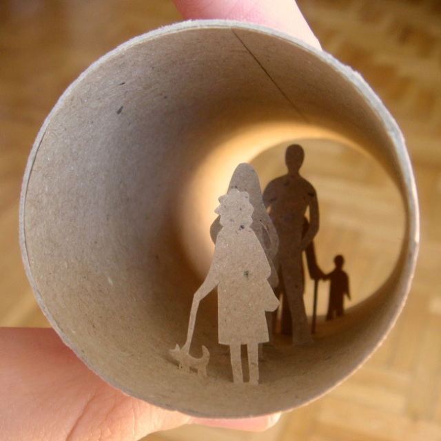 toilet paper roll art Anatassia Elias 26