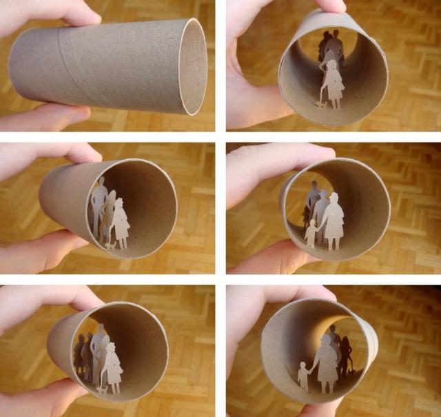 toilet paper roll art Anatassia Elias 27