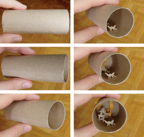 toilet paper roll art Anatassia Elias 4