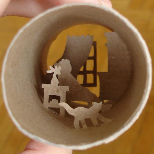 toilet paper roll art Anatassia Elias 5