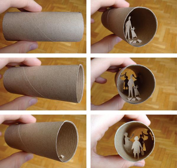 toilet paper roll art Anatassia Elias 8