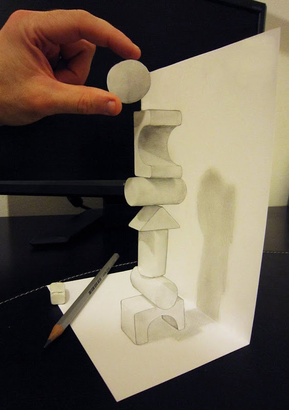amazing three-dimensional illusions alessando diddi 12