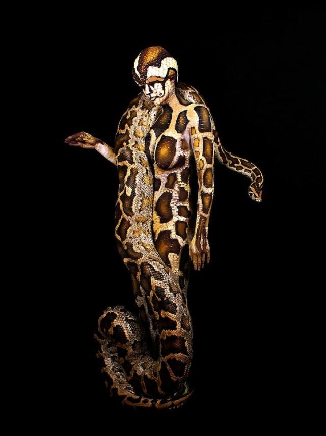 Body Art Illusion johannes stoetter 3