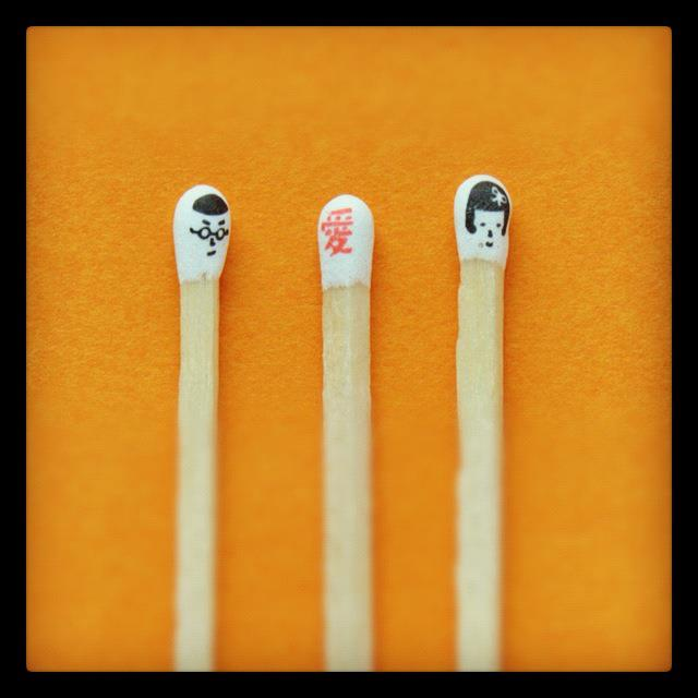 Hiromi Hirasaka  matchstick head 13
