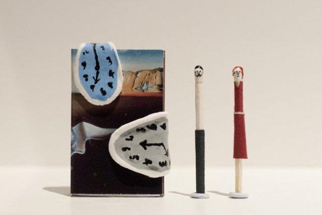 Hiromi Hirasaka  matchstick head 9