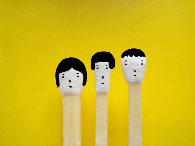 Hiromi Hirasaka  matchstick head