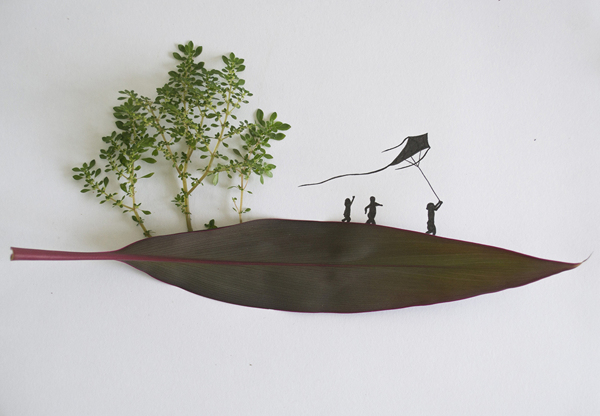 Leaf art Tang Chiew Ling. 8